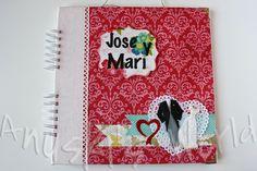 Libro de firmas de boda para Jose y Mari