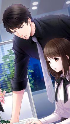 Manga Couple, Anime Love Couple, Anime Couples Manga, Anime Amor, Anime Cupples, Romantic Anime Couples, Cute Couples, Desenhos Love, Cute Anime Coupes