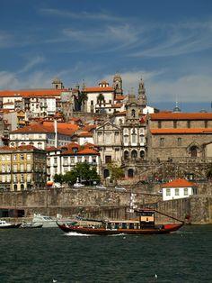 Porto, Douro River, Rabelo Boat, Portugal
