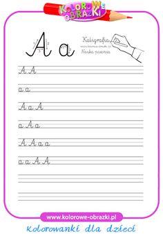 Litera A - Kaligrafia litery