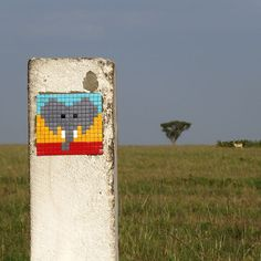 this isn't happiness™ (Invader in Tanzania), Peteski