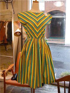 vintage! cotton dress