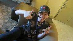Phil in his YouTube hat :))
