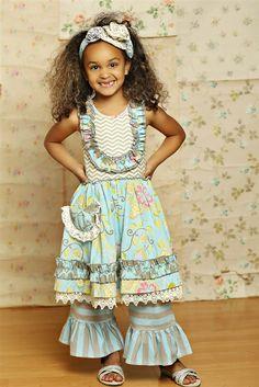 69a10bd36143 Mustard Pie Clothing - Gwendolyn Twirl Dress in Spa Blue
