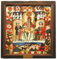 Folk, Religion, Icons, Frame, Glass, Pictures, Painting, Home Decor, Photos