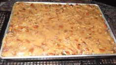 German Chocolate Sheet Cake (from the Homemade German Chocolate Sheet Cake Totally scratch recipe NO cake mix or canned frosting here! The post German Chocolate Sheet Cake (from the appeared first on Deutschland. Bakery Cakes, Food Cakes, Cupcake Cakes, Cake Icing, Delicious Desserts, Dessert Recipes, Baking Desserts, Dessert Bars, Sheet Cake Recipes