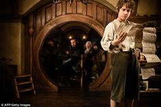 Hobbits: The three-foot tall manlike creatures were made famous in JRR Tolkein's The Hobbit and Lord of the Rings books. Picture here, Martin Freeman as Bilbo Baggins in The Hobbit: An Unexpected Journey