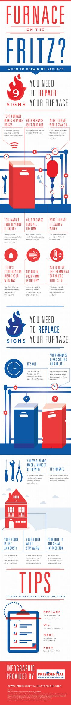 Did you know that new Energy Star furnaces are more efficient than conventional furnaces? Discover more interesting facts and see if it is time to get a new furnace by taking a look at this infographic from a furnace maintenance company in Gaithersburg. Furnace Maintenance, Home Safety Tips, Energy Star Appliances, New Home Construction, Heating And Air Conditioning, Heating Systems, Thing 1, Home Repair, Save Energy