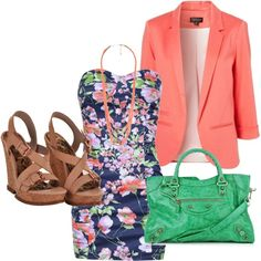 """Color!"" by karrina-renee-krueger on Polyvore"