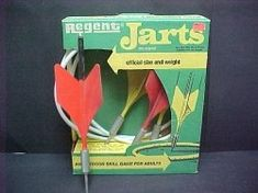 Jarts -- gotta love throwing sharp projectiles across the lawn!