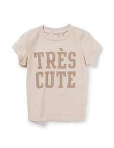 Baby Tres Chic Tee - Tops + Tees - Categories - baby girls | Peek Kids Clothing