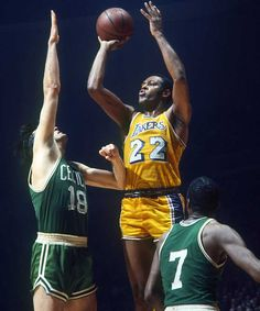 Elgin Baylor | He played 13 seasons as a forward in the NBA for the Minneapolis / Los Angeles Lakers, appearing in eight NBA Finals. Baylor was a gifted shooter, strong rebounder, and an accomplished passer. Renowned for his acrobatic maneuvers on the court, Baylor regularly dazzled Lakers fans with his trademark hanging jump shots. The No. 1 draft pick in 1958, NBA Rookie of the Year in 1959, and an 11-time NBA All-Star, he is regarded as one of the game's all-time greatest players.