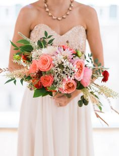 Colorful Eclectic Wedding Inspiration | Green Wedding Shoes Wedding Blog | Wedding Trends for Stylish + Creative Brides