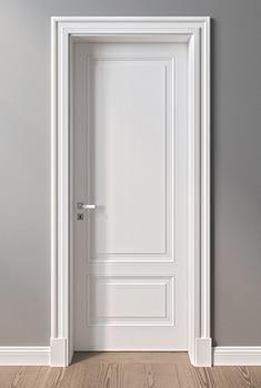 Interior Door Styles - Home Decor White Interior Doors, Interior Door Styles, Door Design Interior, White Doors, Interior Door Trim, White Wooden Doors, Modern Interior, Exterior Design, Bedroom Door Design