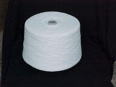 White 2/24 Acrylic Yarn, White Cone Yarn, Machine Knitting Yarn by stephaniesyarn on Etsy