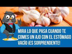 Mira Lo Que Pasa Cuando Te Comes Un Ajo Con El Estómago Vacío ¡Es Sorprendente! - YouTube