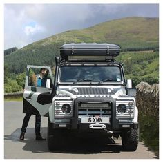 The Windsor & Wales Land Rover Defender.