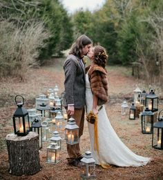 patina lanterns wedding decor ideas for fall wedding
