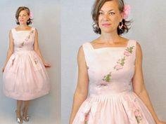 50s Dress / 1950s Dress / Sun Dress / 50s by AuntieEstablishment