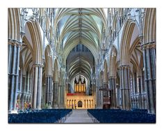 Lincoln Cathedral (reminds me of the Wells Cathedral in the UK)...