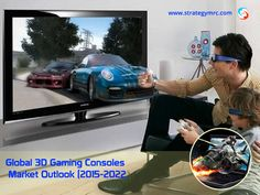Global 3D Gaming Consoles Market Outlook (2015-2022). For More Information: http://www.strategymrc.com/report/global-3d-gaming-consoles-market-outlook-2015-2022