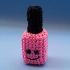 Crochet nail polish!