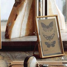 4e514c9902b1  150.00 Roost Brass-Edged Standing Frames Frame Wall Decor
