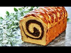 Cozonac domnesc cu nuca si halva , reteta de cozonac ⭐ Adygio - YouTube Pastry And Bakery, Baked Goods, Mousse, Banana Bread, Sushi, Baking, Ethnic Recipes, Desserts, Videos