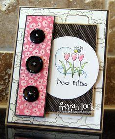 Megan Lock Designs: Bee Mine