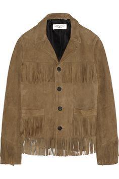 saint laurentcurtis fringed jacket   permanent collection   2015