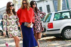 MFW весна-лето – 2015: Street Style, часть 5