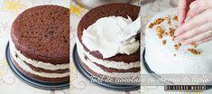 Din bucătăria mea: Tort de ciocolata cu crema de lapte No Bake Cake, Vanilla Cake, Tiramisu, Cake Recipes, Caramel, Sweets, Baking, Ethnic Recipes, Desserts