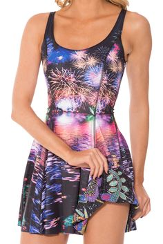 Fireworks Vs Not Actually Sequin Inside Out Dress - LIMITED (WW $170AUD / US $165USD) by Black Milk Clothing