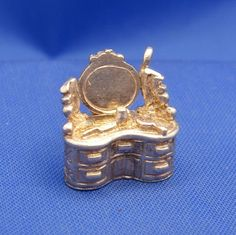 Vintage English Sterling Silver Articulated Dressing Table Charm