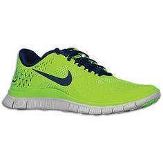 nike free run 4.0 green