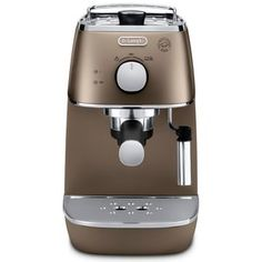 Buy De'Longhi Distinta Espresso Machine - Matt Bronze We've got top products at great prices including fashion, homeware and lifestyle products. Free delivery available # Ad Machine A Cafe Expresso, Espresso Coffee Machine, Espresso Maker, Drip Coffee Maker, Kitchenaid Artisan, Coffee Varieties, Italian Espresso, Magnolia Market, Blended Coffee