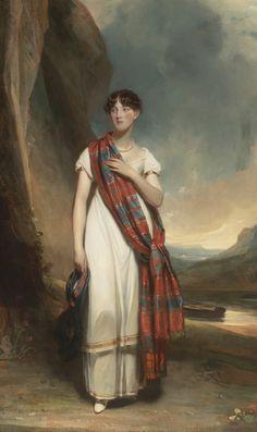 Portrait of a Lady Attributed to Sir John Watson Gordon R.A.