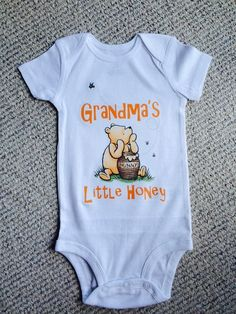 Hey, I found this really awesome Etsy listing at https://www.etsy.com/listing/221135673/classic-storybook-winnie-the-pooh-onesie