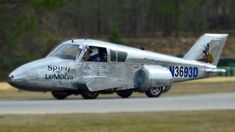 Cop Turns Abandoned Plane Into Street-Legal Car ~ Published on Dec 23, 2014.  CAR-enthusiast cop Jeff Bloch amazes road users cruising the streets in a converted PLANE.  The 42-year-old police officer - dubbed Speedy Cop by his friends - combined an abandoned Cessna aircraft with a Toyota van to make his jaw-dropping ride. The 27-foot vehicle was originally built for the 24 Hours of LeMons race in South Carolina, US - but since then Jeff has made the car street legal.