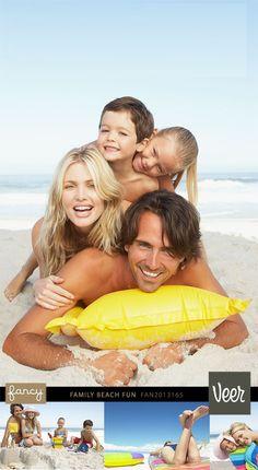 Cute family beach pic!