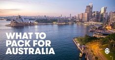 Headed to the land down under? Whether you're headed for stylish Sydney, Outback wilderness, or the diving in Queensland, here's what to pack for Australia.