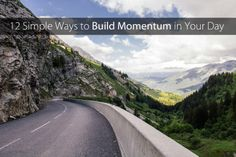 12 Simple Ways to Create Momentum in Your Day // These ideas are great and can easily be adapted for those with fibromyalgia.