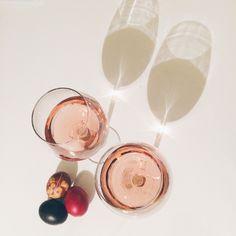 Celebrating Easter with some rose wine Vsco Grid, Alcoholic Drinks, Easter, Wine, Glass, Drinkware, Easter Activities, Corning Glass, Liquor Drinks