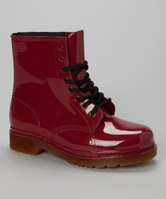 Look what I found on #zulily! Burgundy Waterproof Boot by Ruby Shoes #zulilyfinds