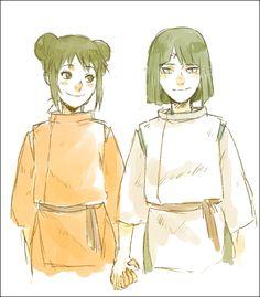 Naruto - Neji and Tenten - Spirited Away