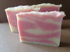 Vanilla-Pomergranate Body Bar Soap by WhereDidAllMyTimeGo on Etsy
