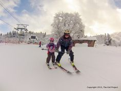 G0132115 Five positions for teaching your young kids to ski...