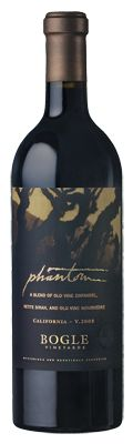 BOGLE VINEYARDS :: Phantom  A great red blend of Zin, Petite Sirah, and Mourvedre