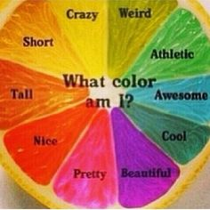 What color am I ?