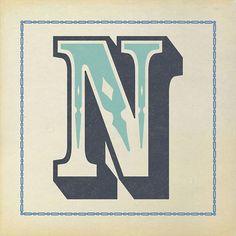 """N"" / design by DCR Studios"